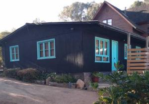 Front side Casa bosque