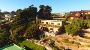 Cabaña Palafitos: Alojamiento de vacaciones exclusivo construido sobre pilotes. Capacidad para 6 personas.